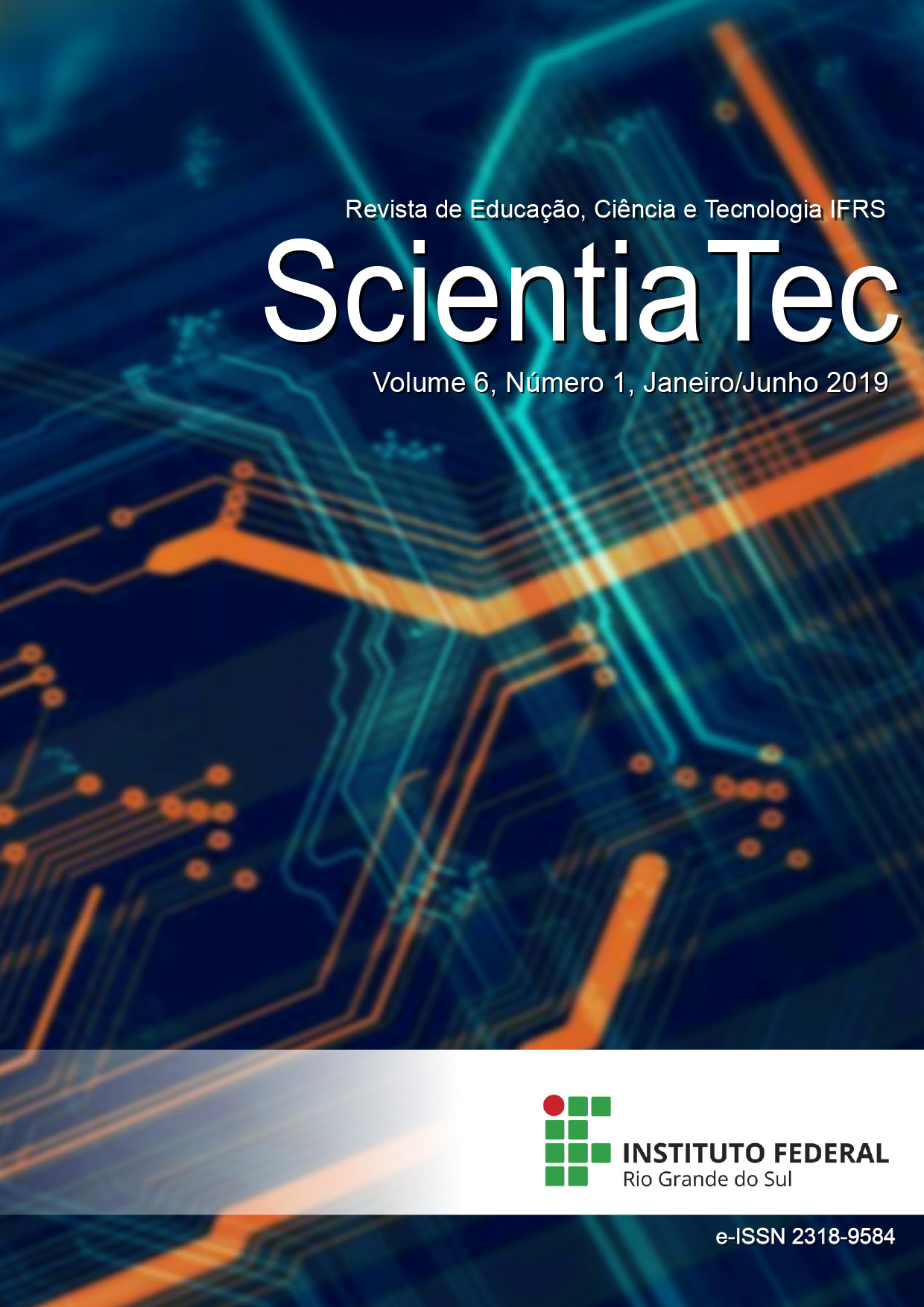 Visualizar v. 6 n. 1 (2019): ScientiaTec