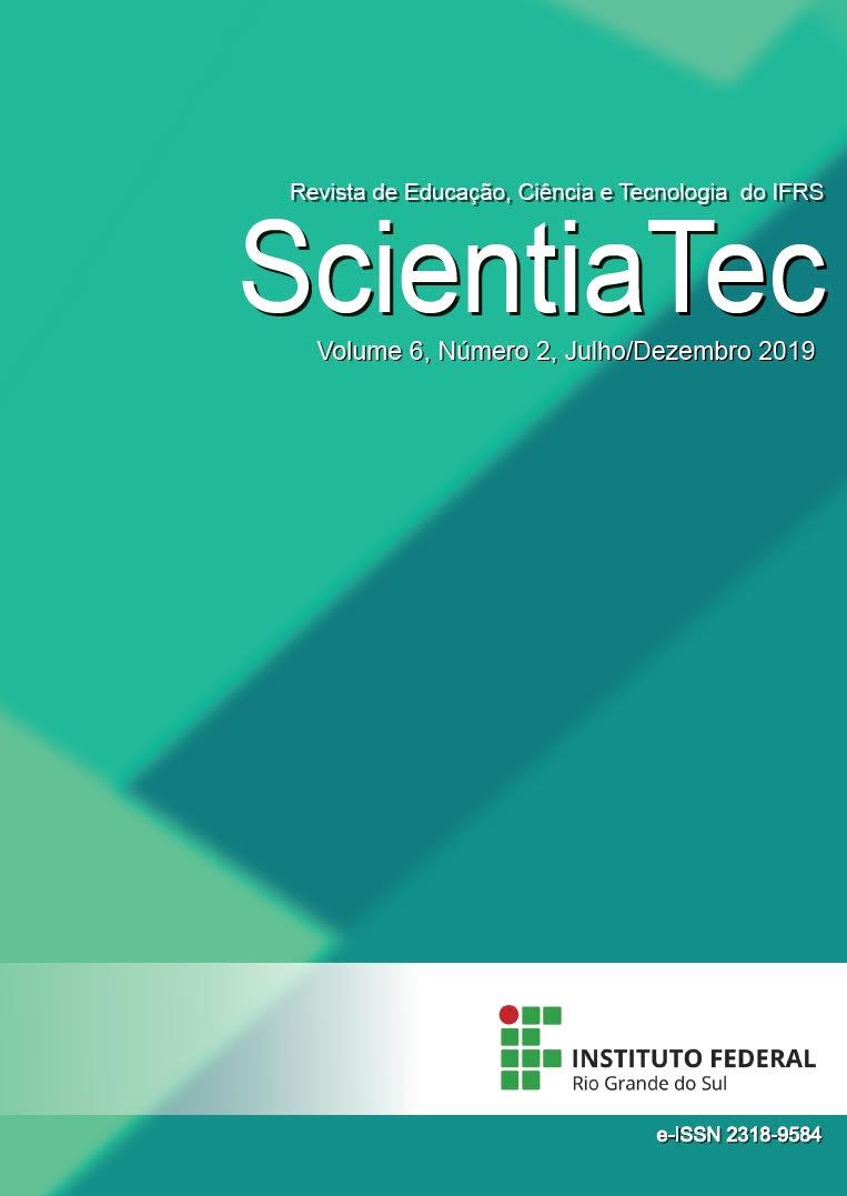 Revista de Educação, Ciência e Tecnologia do IFRS - Scientiatec